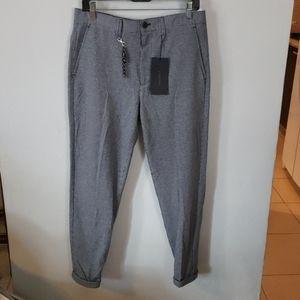 NWT ZARA MENS CROP comfort PANTS